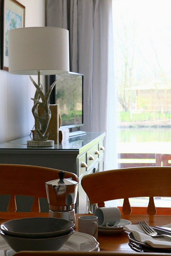 Our Country Cottage - The Living, Dining Room via Dear Designer's Blog (7)