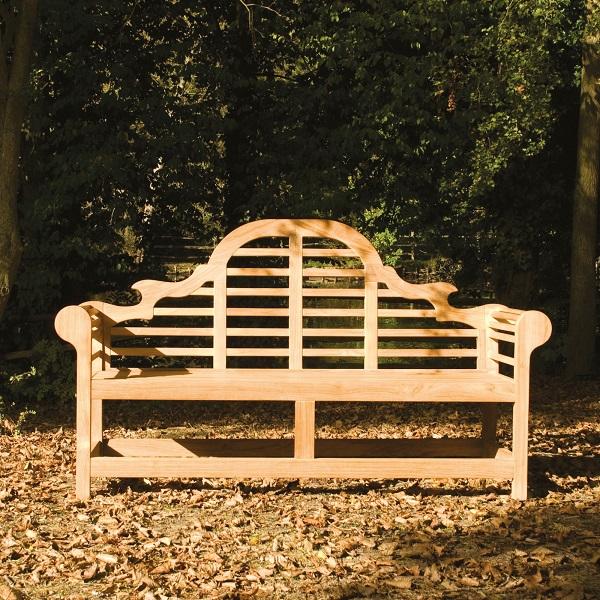 Cuckooland_Alexander Rose Teak Lutyens Garden Bench, £585