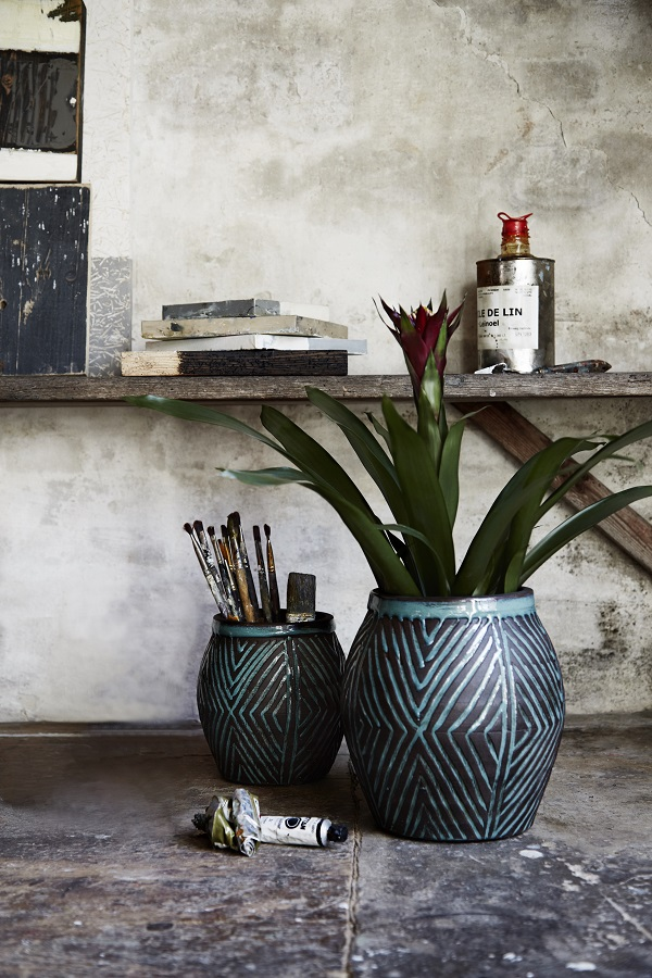 Curious Egg - Kahlo Flower Pots from £20