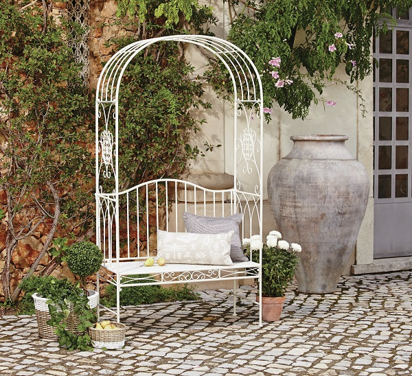 Dunelm_Valentino Arch Bench, £129.99