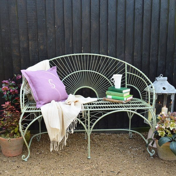 Metal Garden Bench, £198, Mia Fleur