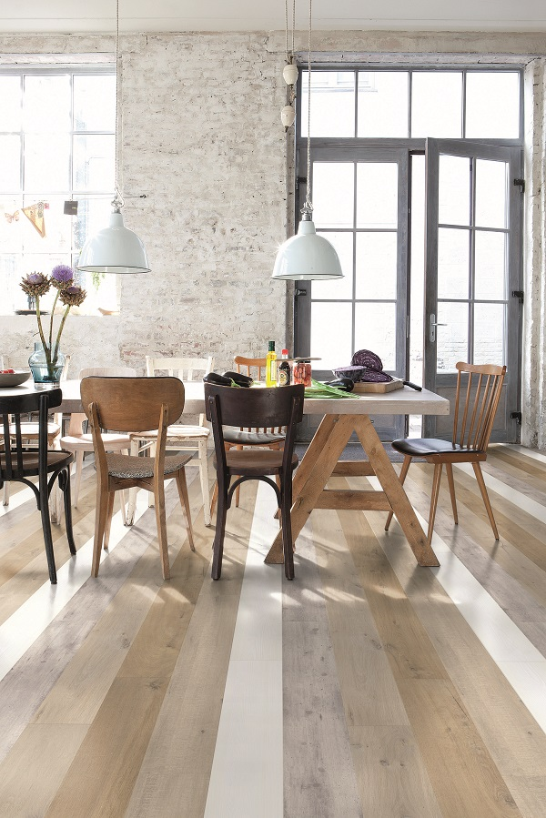 industrial,dining room,laminate flooring