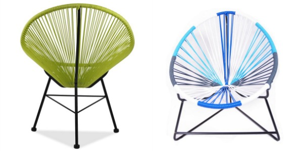 acapulco chair, garden furniture