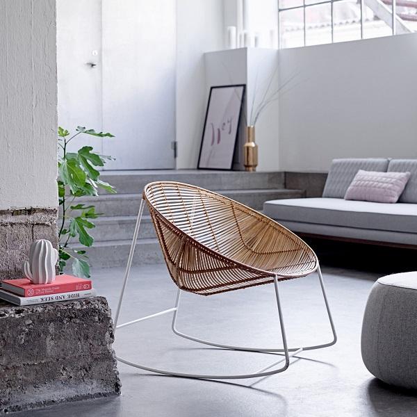 acapulco chair, garden furniture, rocker,