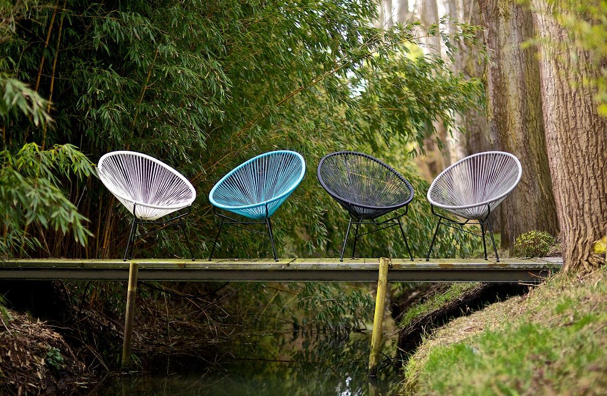 acapulco chair, garden furniture,