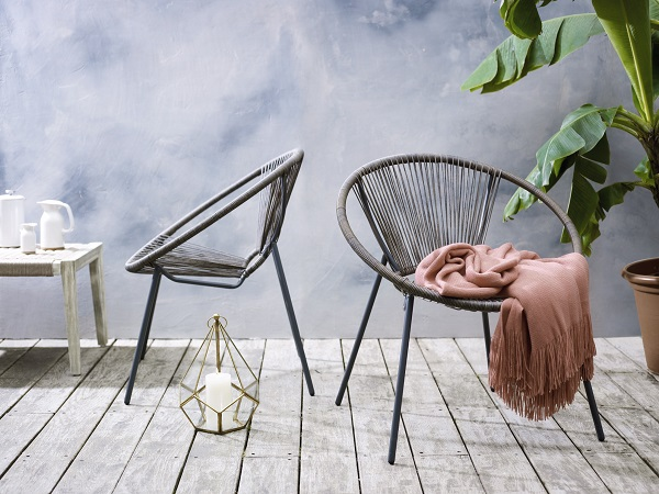 Acapulco chair, garden furniture,