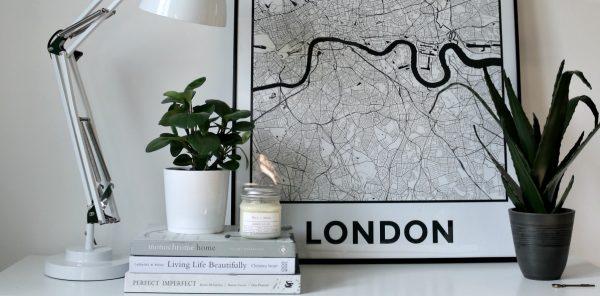 personalised map prints - London - East End