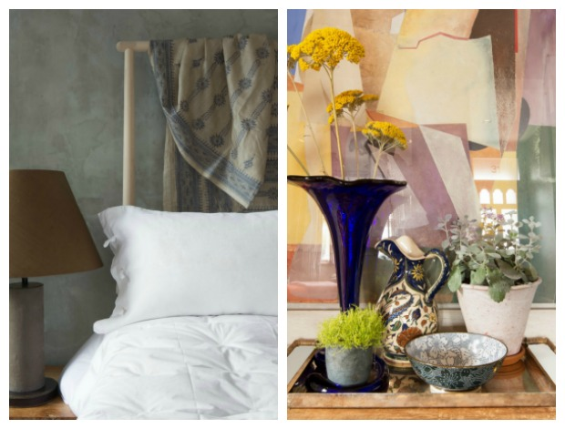 House Tour - London - Polished plaster and oversized works of art