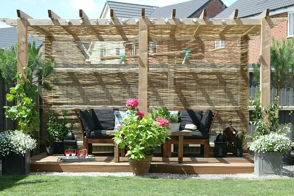 pergola, garden, outside space, outdoor rooms,
