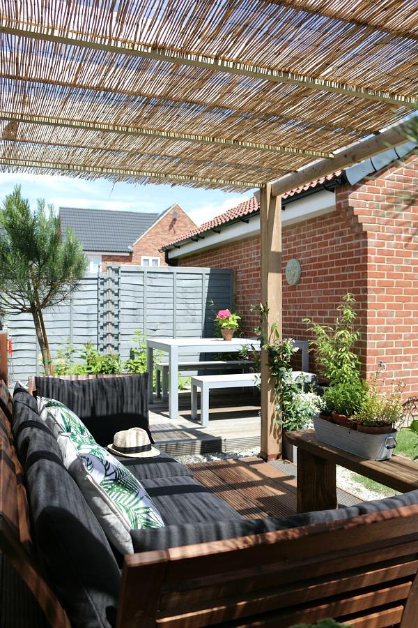 pergola, garden, outside space, outdoor rooms,