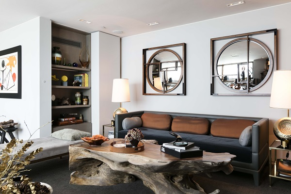 Relaxed London Luxury Meets American Ski Lodge