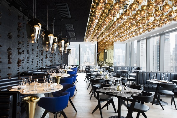 luxurious restaurant design ideas