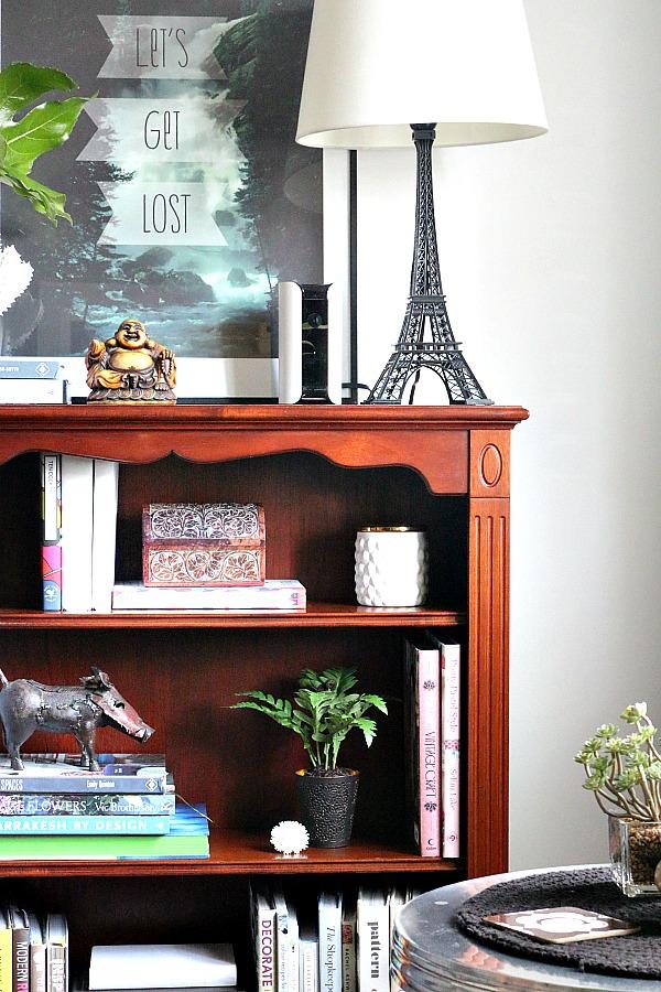 Corners of my home - grey, white, warm wood, green plants