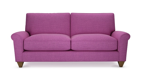 purple sofa from theloungeco