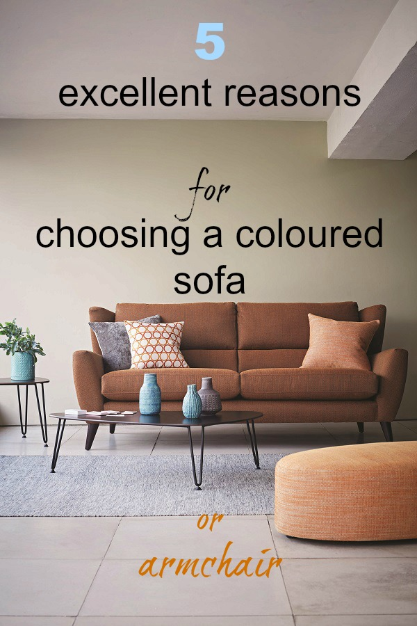 5 excellent reasons for choosing a coloured sofa from theloungeco