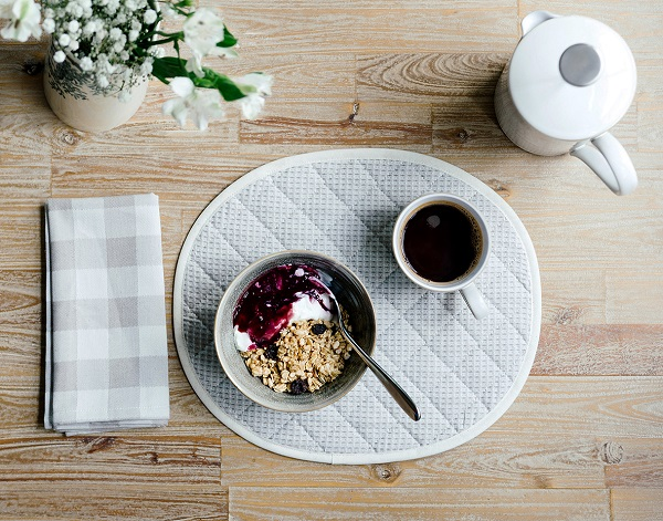 napkins and placemats from the Norfolk Collection