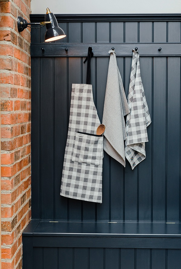 tea towels and apron from the Norfolk Collectio