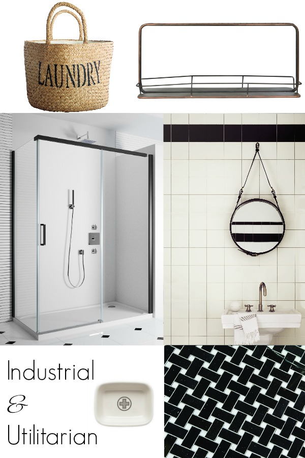The industrial trend in the Bathroom