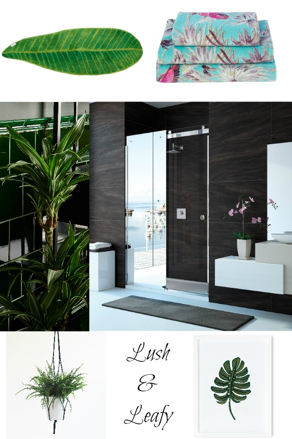 The Lush and Leafy Trend in the Bathroom