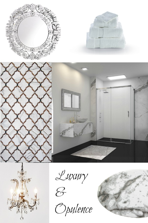 Luxury and Opulence trend for the bathroom