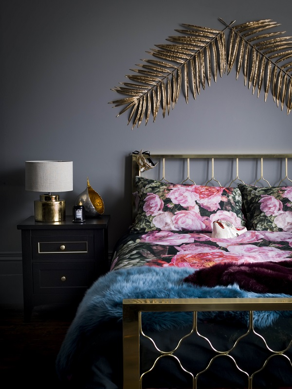cosy autumn bedrooms cry out for some cheery bedding and some fur throws