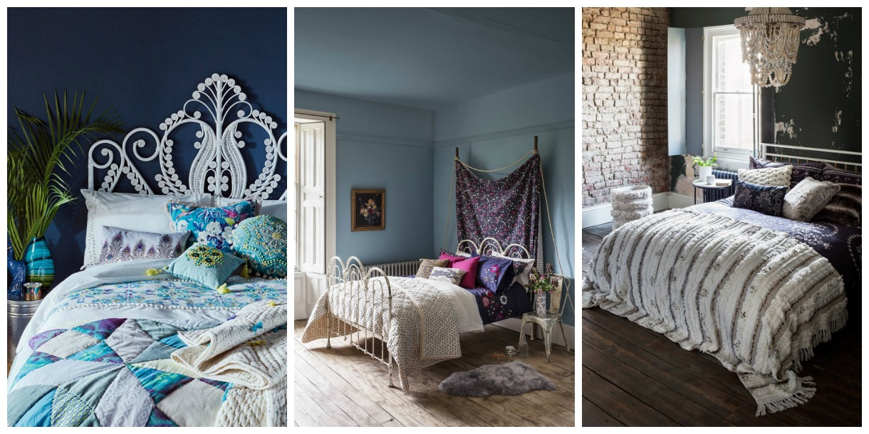 The perfect bohemian bedroom - unconventional and pulling aspects from different cultures