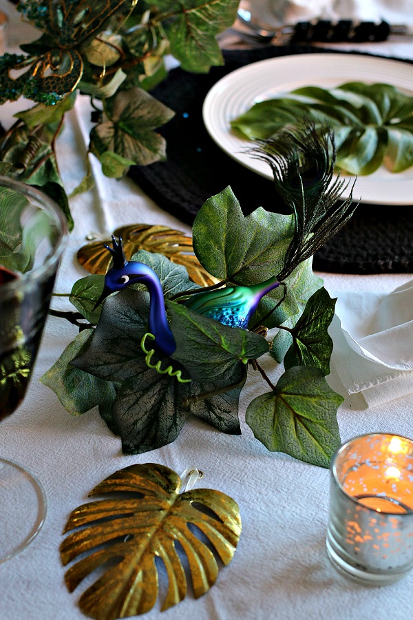 Tropical Inspired Christmas at Dear Designer's #UKHomeBlogHop