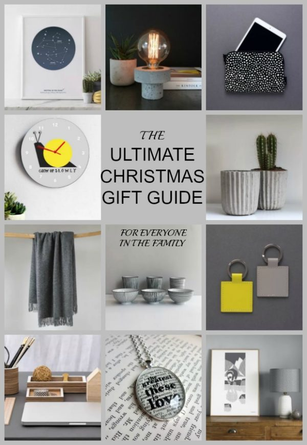 Christmas Gift Guide 2016 from The Heart Home Shop