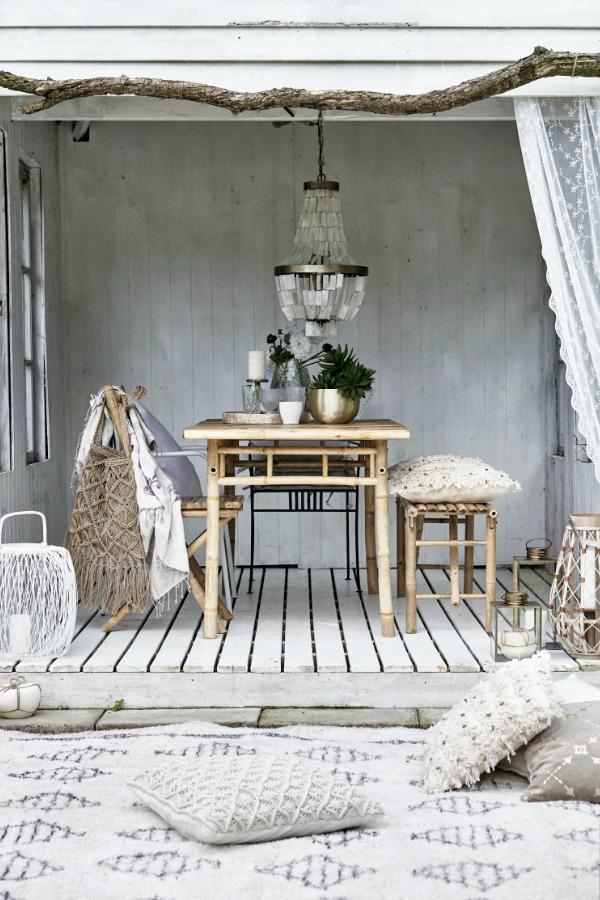 Danish design with a beachy boho vibe