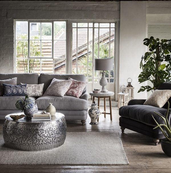 global. decorative colonial style with a modern twist.