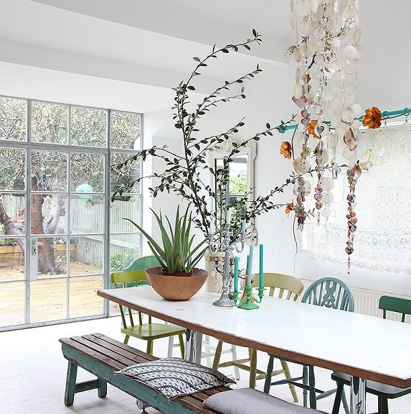Crittall windows flood the space with light