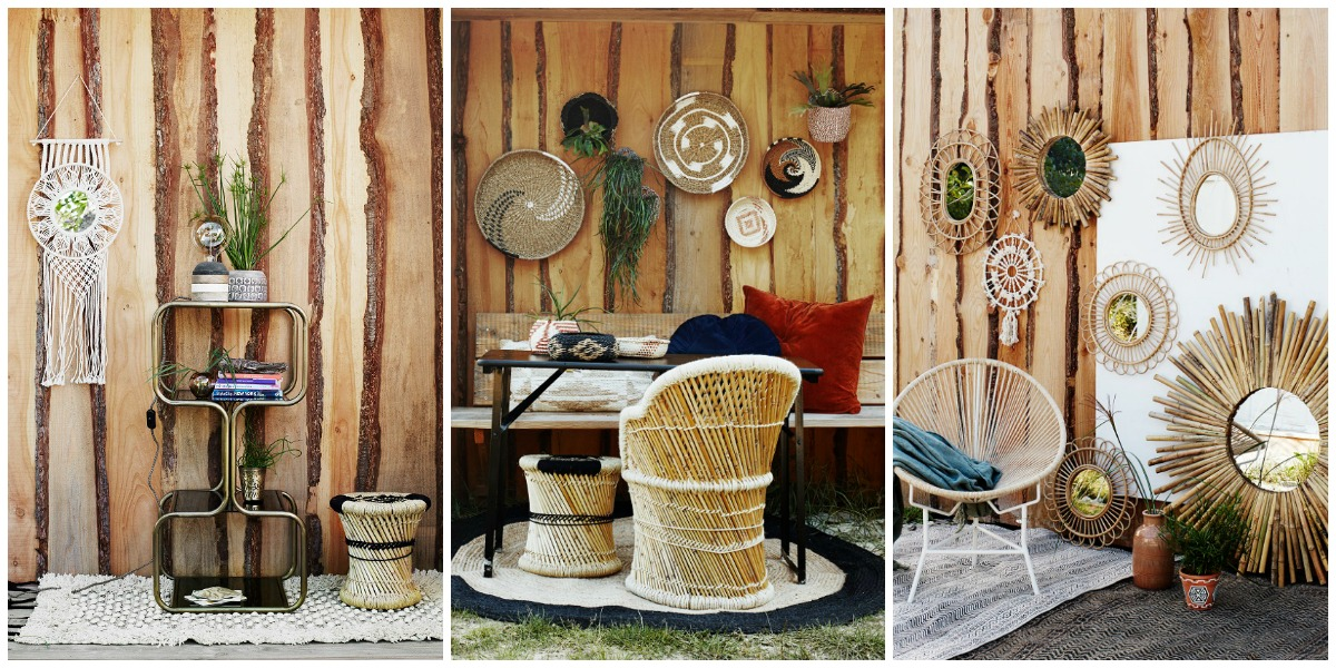 beachy boho vibes from a Danish homewares brand