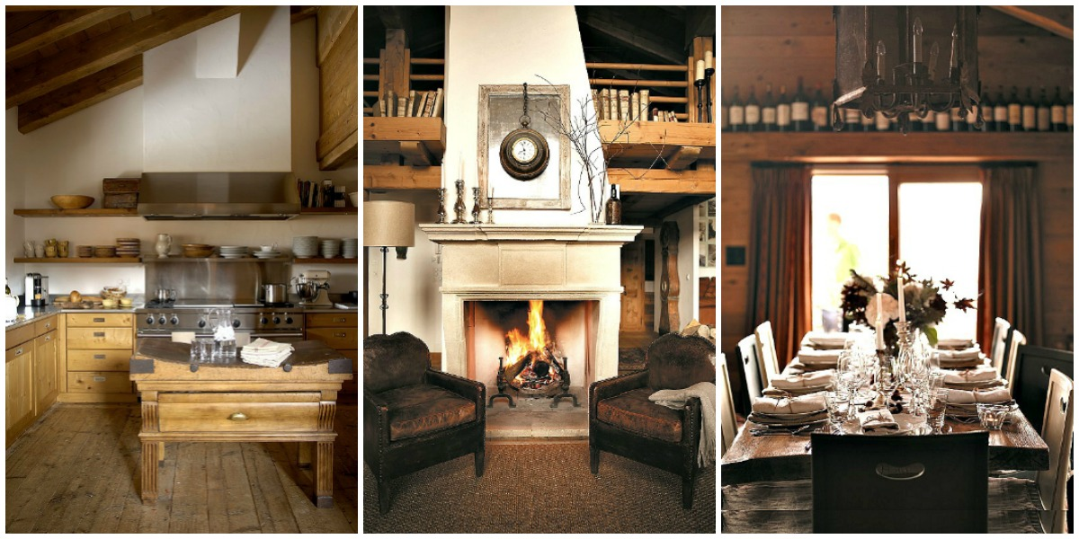 A rustic mountain chalet with cosy simplicity and inviting rooms