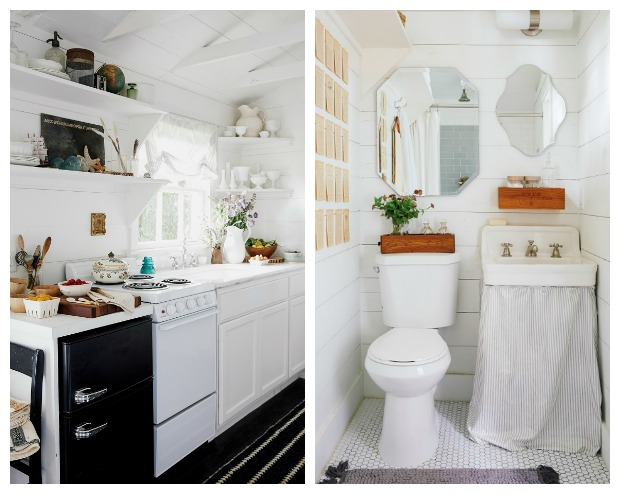 She Sheds - a shed with clean, simple, Scandinavian style
