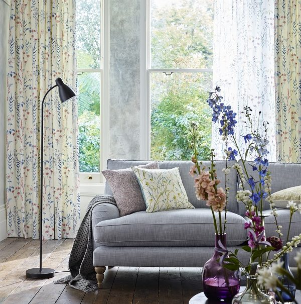 Dedicated to the love of flowers - the latest modern country look from John Lewis