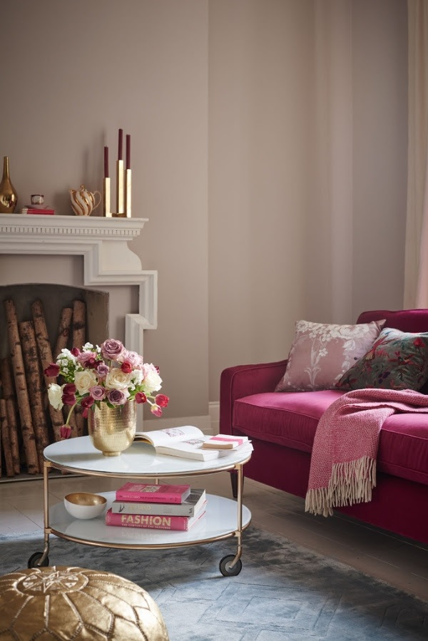 Feminine and sophisticated - blush and gold