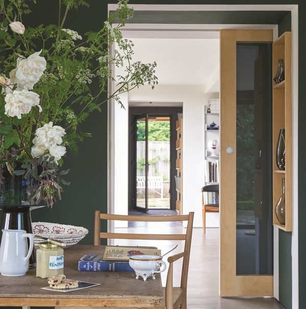 Key paint colours for spring - studio green