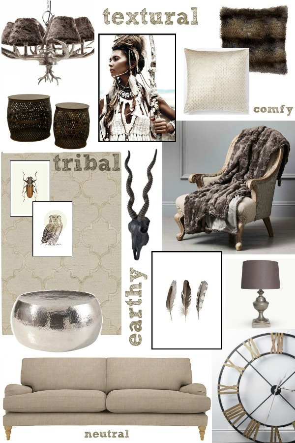 How to combine lots of different global inspired elements successfully in a room scheme