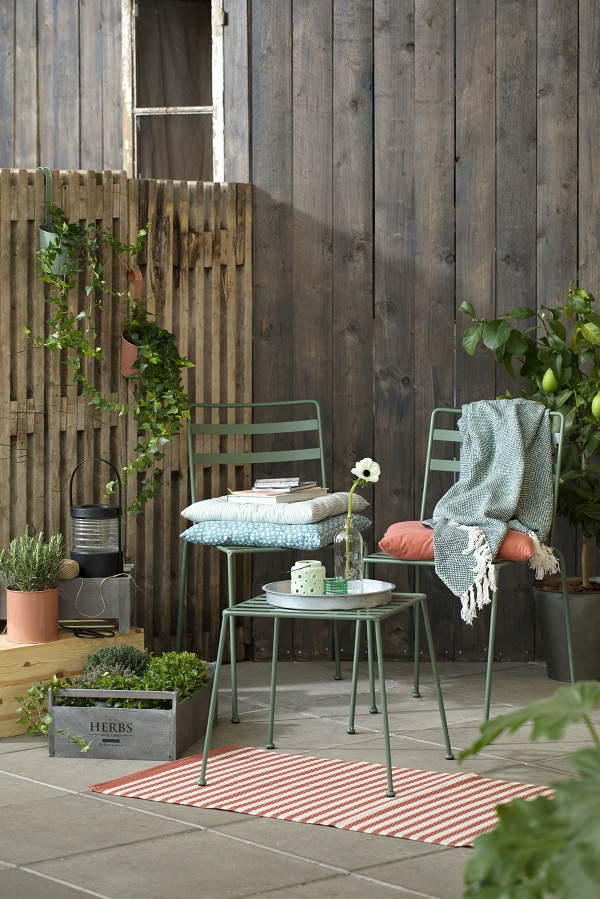 Create an outdoor garden room