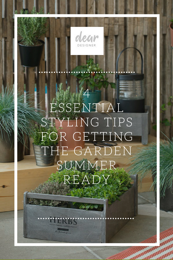 Styling Tips for the Garden