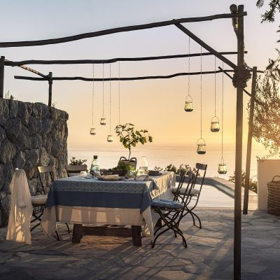 Summer Styling - A table set for dining under the stars
