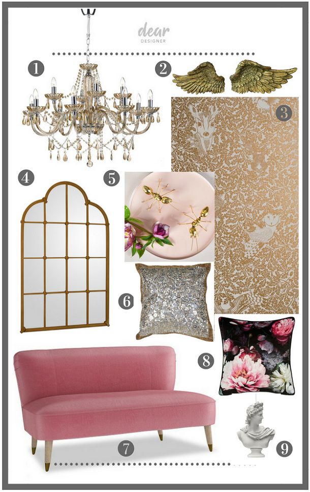 Add romance in the bedroom - buy the look