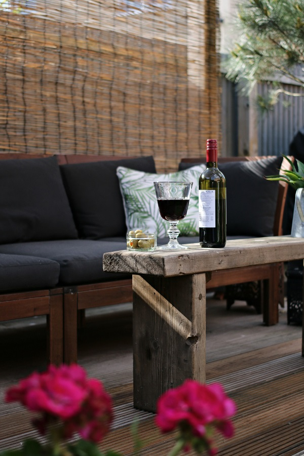 My summer style = relaxed evenings in the garden