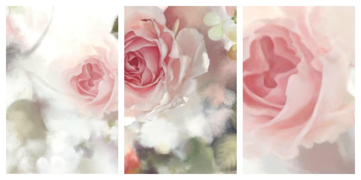 Incandescent Rose Wallpaper from Ellie Cashman