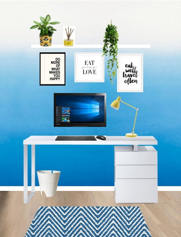 Colour in the workspace