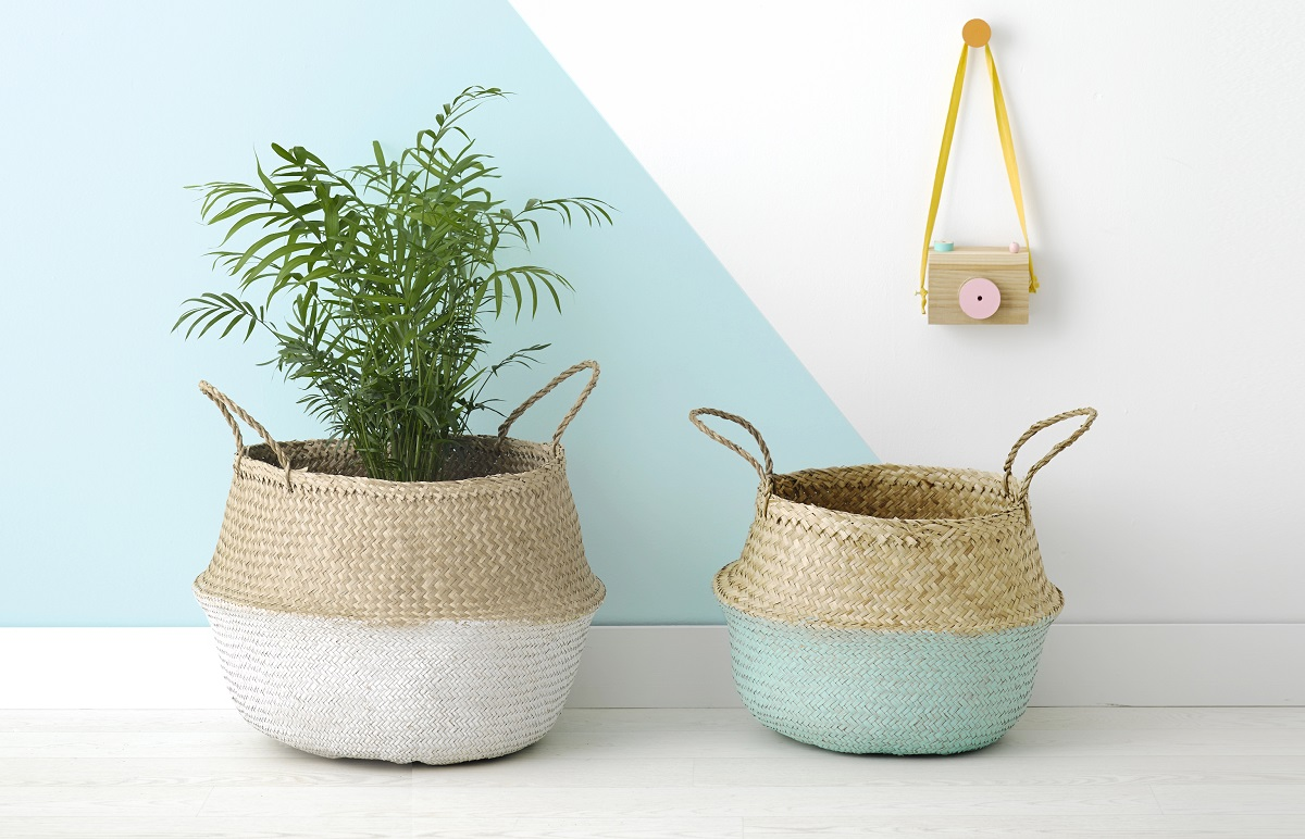 Belly baskets that are not just for the nursery
