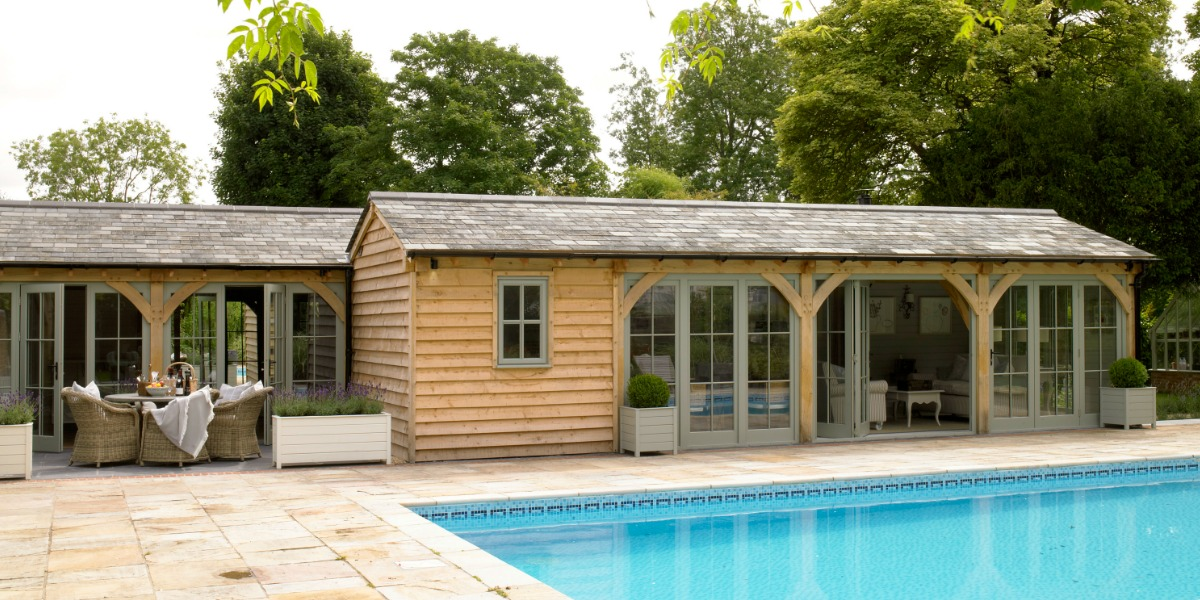 Stephanie Dunning Perfectly Designed Pool House