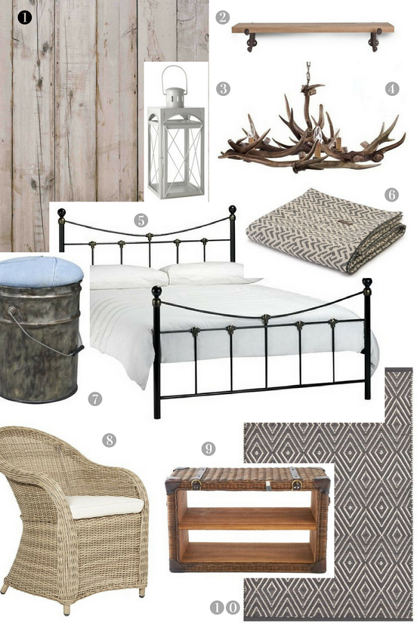 Get the Look of a rustic holiday home