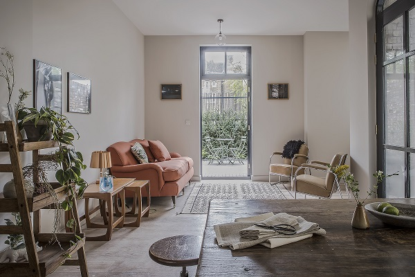 A Victorian School House conversion into a luxury apartment