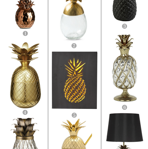 Perfect Pineapple Additions to the Home